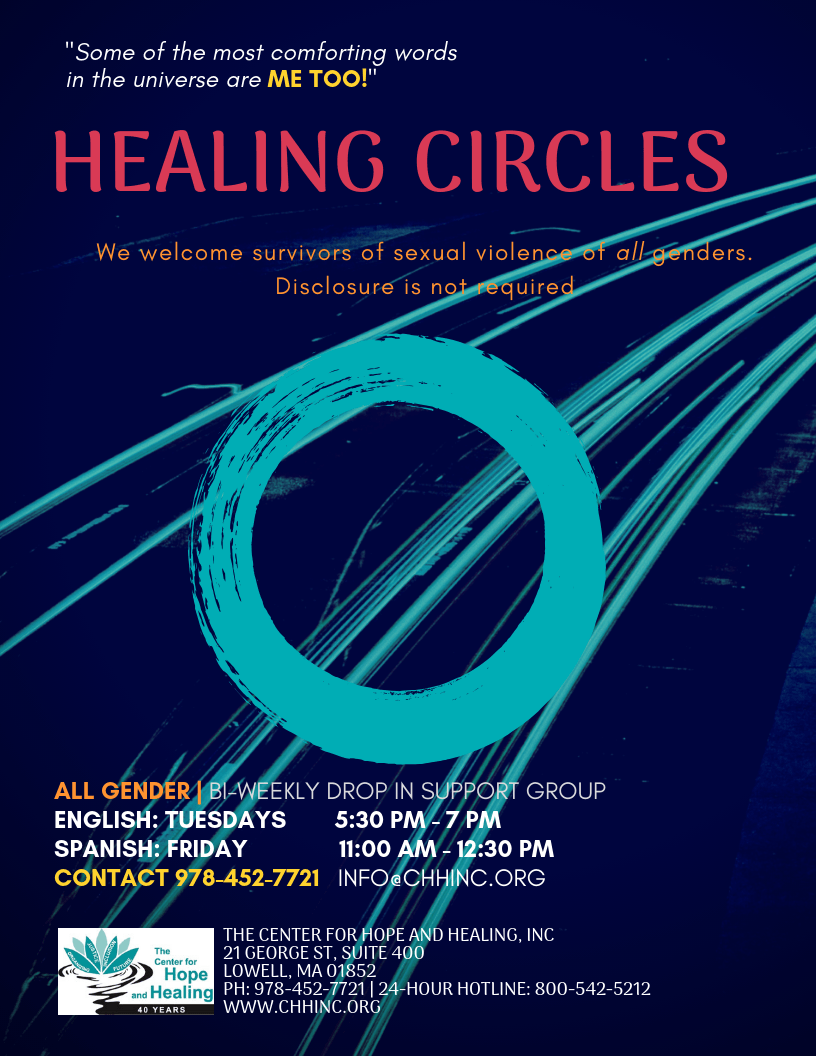 Healing Circles @ The Center for Hope and Healing Inc.